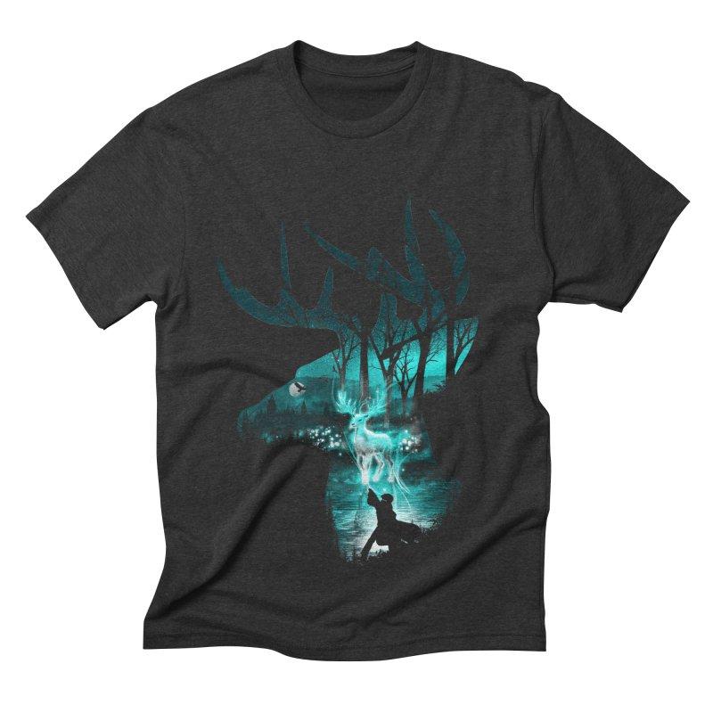 Spirit Animal Men's Triblend T-shirt by dandingeroz's Artist Shop