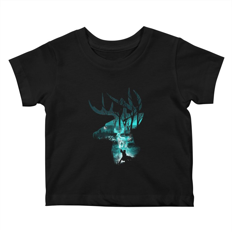 Spirit Animal Kids Baby T-Shirt by dandingeroz's Artist Shop