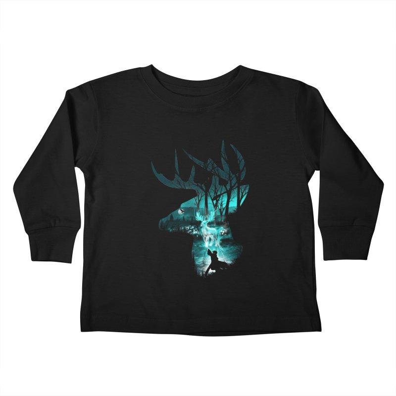 Spirit Animal Kids Toddler Longsleeve T-Shirt by dandingeroz's Artist Shop