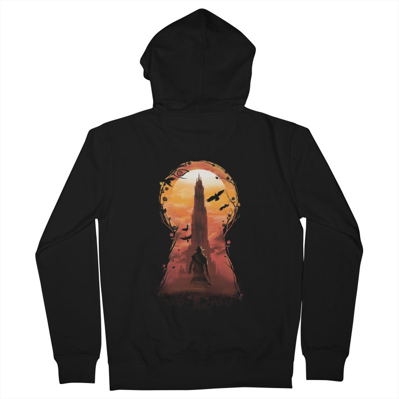 The Wind Through the Keyhole Women's Zip-Up Hoody by dandingeroz's Artist Shop