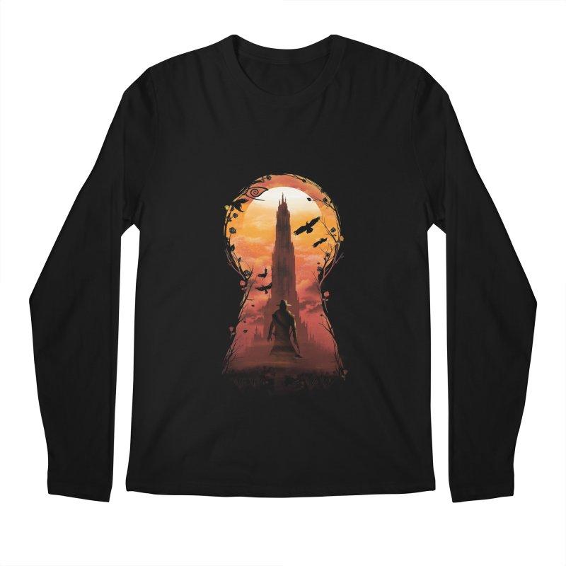 The Wind Through the Keyhole Men's Longsleeve T-Shirt by dandingeroz's Artist Shop