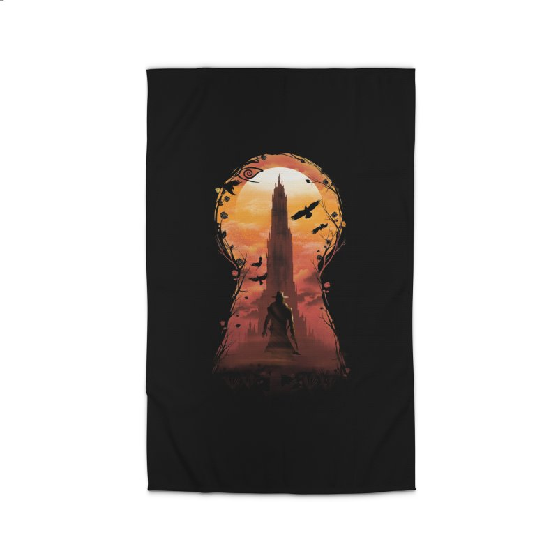 The Wind Through the Keyhole Home Rug by dandingeroz's Artist Shop
