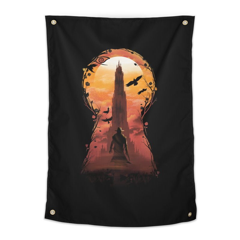 The Wind Through the Keyhole Home Tapestry by dandingeroz's Artist Shop