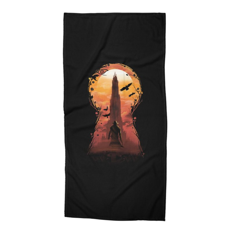 The Wind Through the Keyhole Accessories Beach Towel by dandingeroz's Artist Shop
