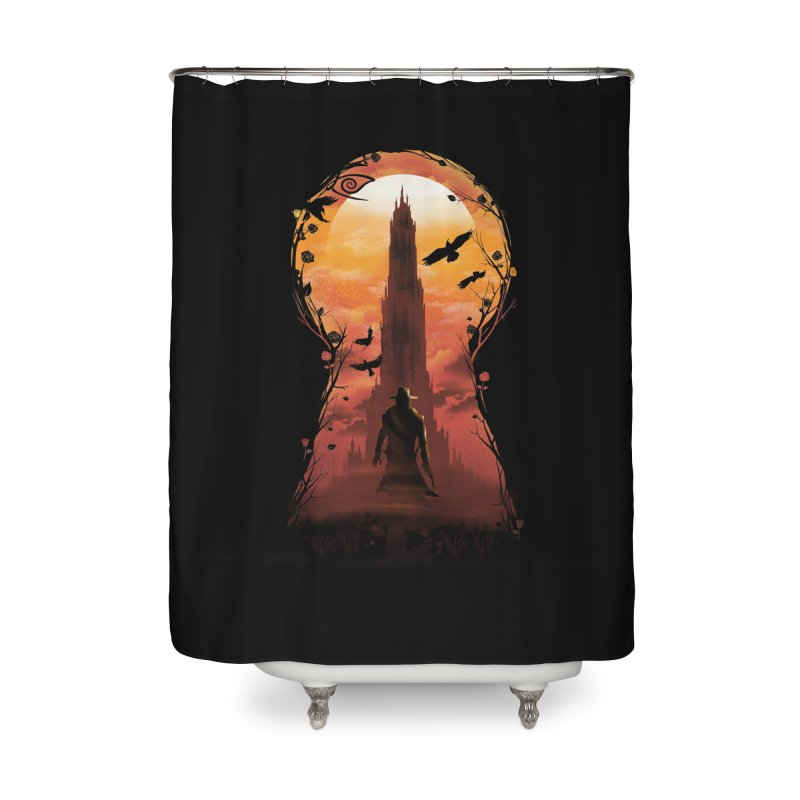 The Wind Through the Keyhole Home Shower Curtain by dandingeroz's Artist Shop