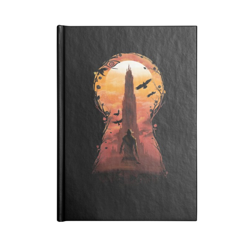 The Wind Through the Keyhole Accessories Notebook by dandingeroz's Artist Shop