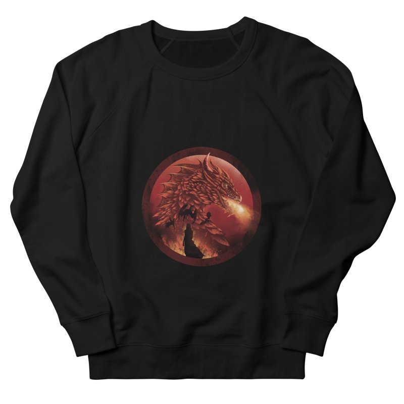 The Queen of Dragon Stone Men's Sweatshirt by dandingeroz's Artist Shop