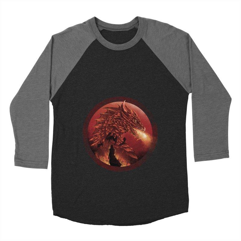 The Queen of Dragon Stone Men's Baseball Triblend T-Shirt by dandingeroz's Artist Shop