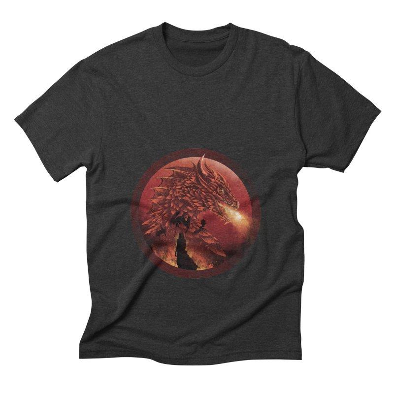 The Queen of Dragon Stone Men's Triblend T-shirt by dandingeroz's Artist Shop