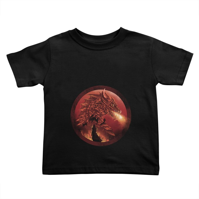 The Queen of Dragon Stone Kids Toddler T-Shirt by dandingeroz's Artist Shop
