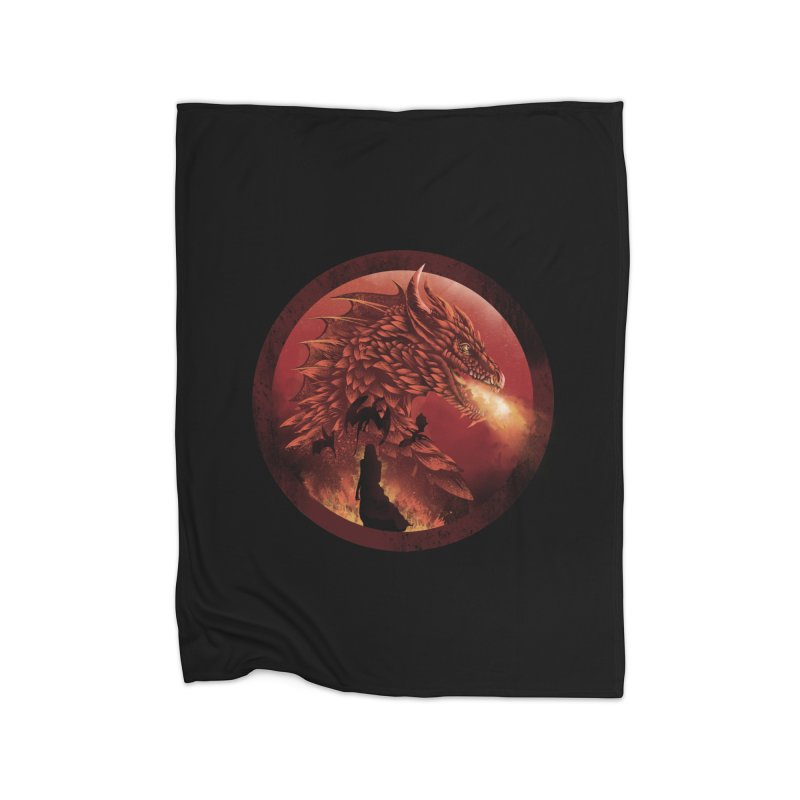 The Queen of Dragon Stone Home Blanket by dandingeroz's Artist Shop