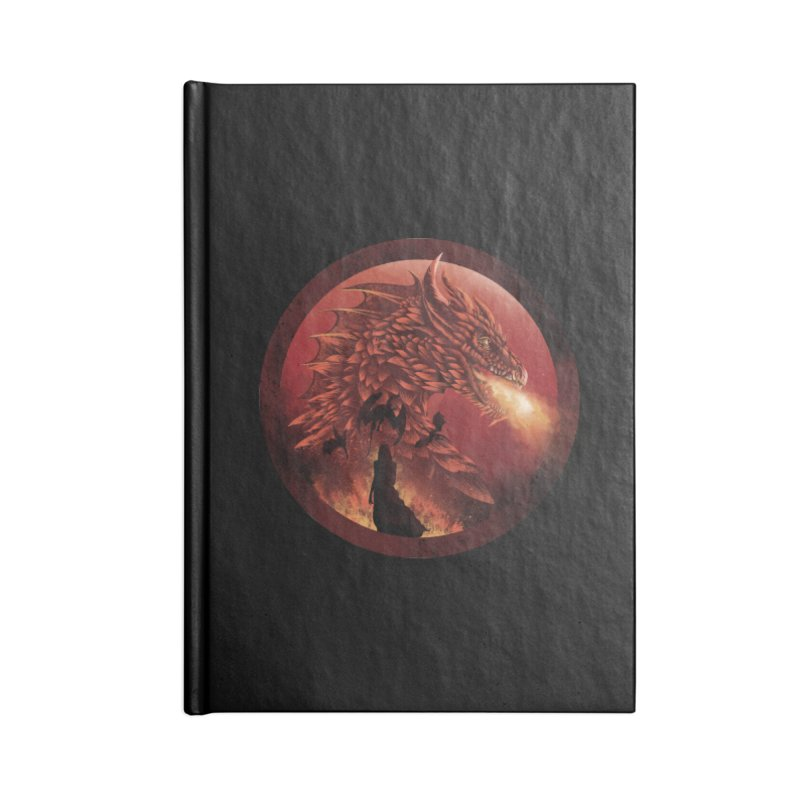 The Queen of Dragon Stone Accessories Notebook by dandingeroz's Artist Shop