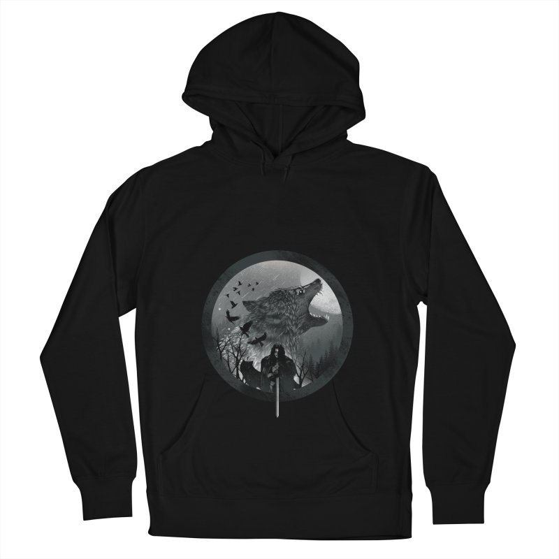 The King of the North Men's Pullover Hoody by dandingeroz's Artist Shop