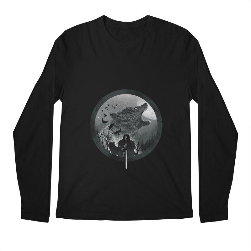 The King of the North Men's Longsleeve T-Shirt by dandingeroz's Artist Shop