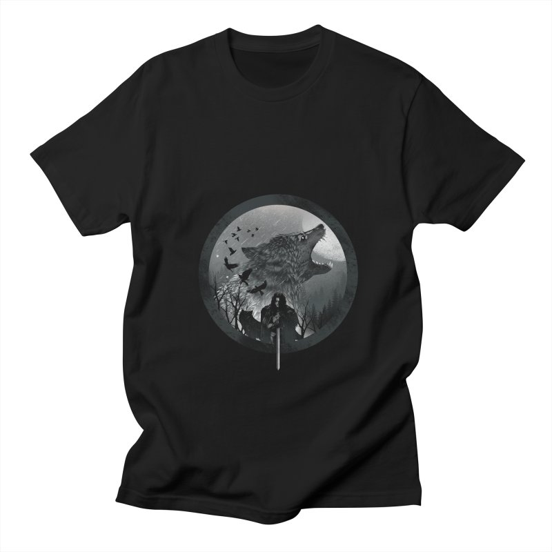 The King of the North Women's Unisex T-Shirt by dandingeroz's Artist Shop