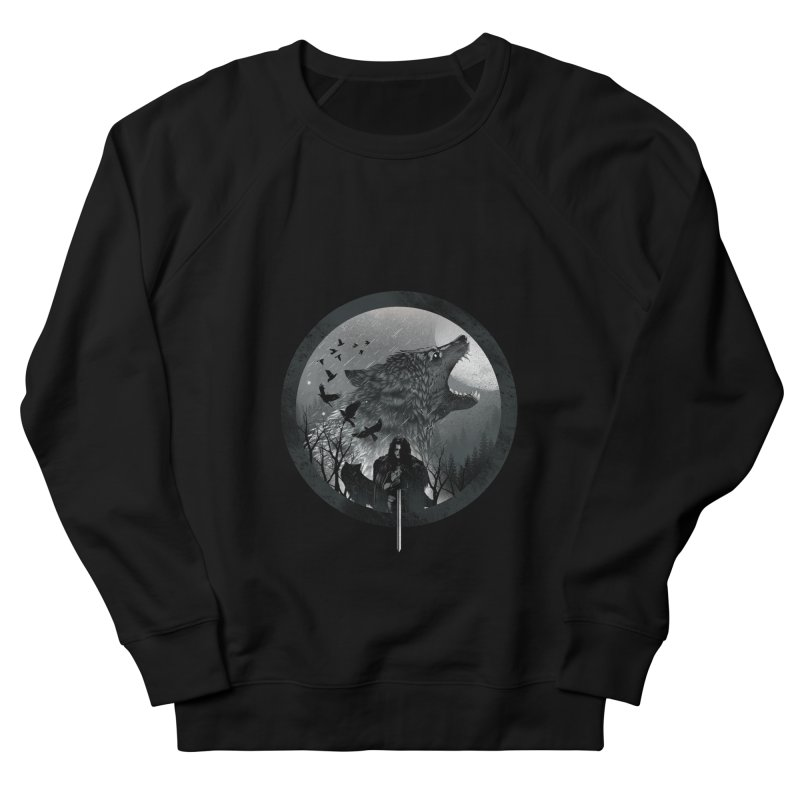 The King of the North Men's Sweatshirt by dandingeroz's Artist Shop