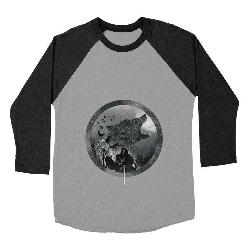 The King of the North Women's Baseball Triblend T-Shirt by dandingeroz's Artist Shop