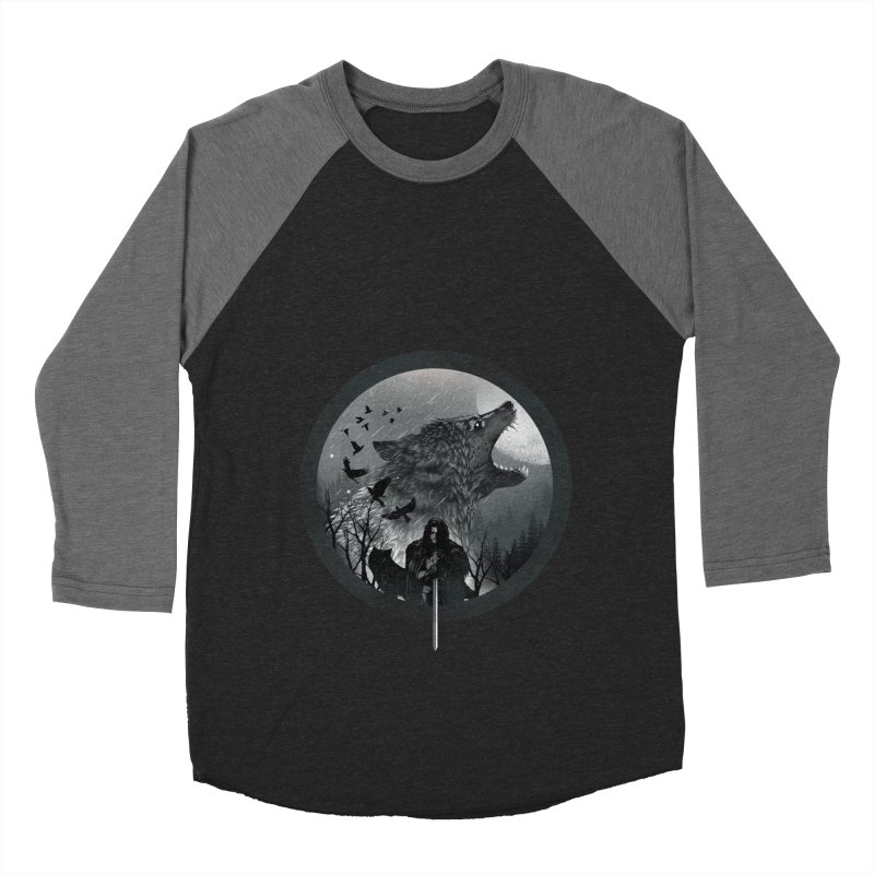 The King of the North Men's Baseball Triblend T-Shirt by dandingeroz's Artist Shop