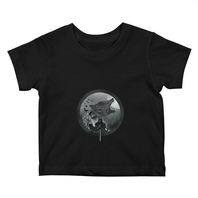 The King of the North Kids Baby T-Shirt by dandingeroz's Artist Shop