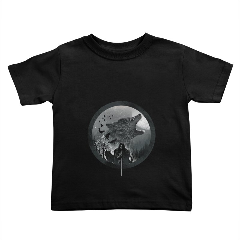 The King of the North Kids Toddler T-Shirt by dandingeroz's Artist Shop