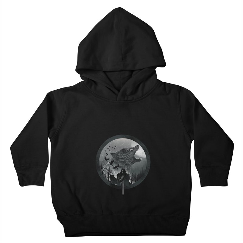 The King of the North Kids Toddler Pullover Hoody by dandingeroz's Artist Shop