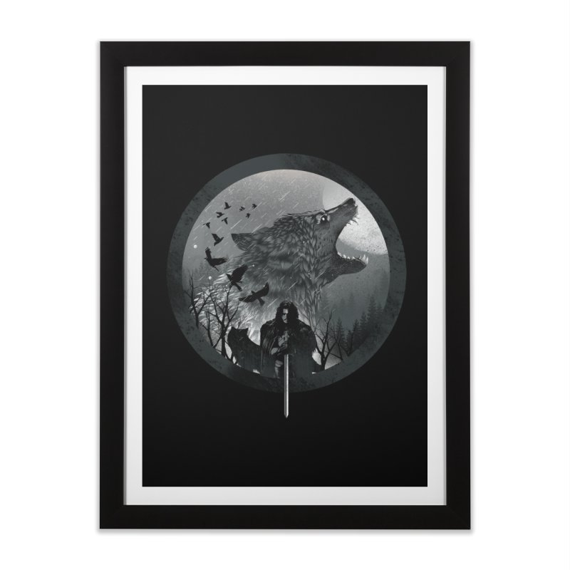 The King of the North Home Framed Fine Art Print by dandingeroz's Artist Shop