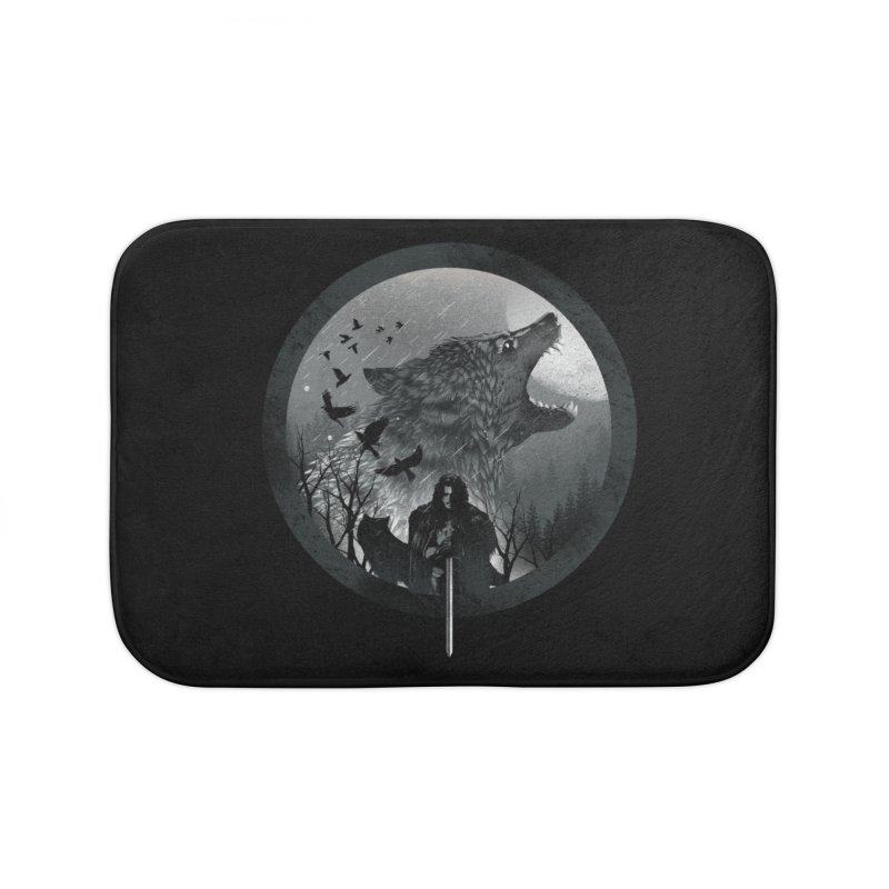 The King of the North Home Bath Mat by dandingeroz's Artist Shop
