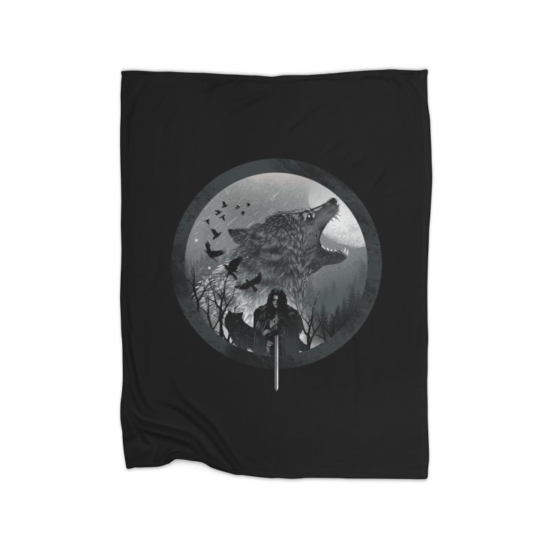 The King of the North Home Blanket by dandingeroz's Artist Shop