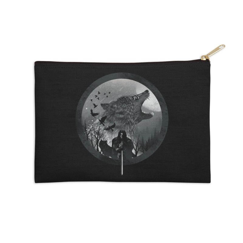 The King of the North Accessories Zip Pouch by dandingeroz's Artist Shop
