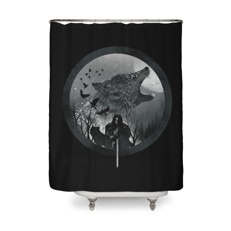 The King of the North Home Shower Curtain by dandingeroz's Artist Shop