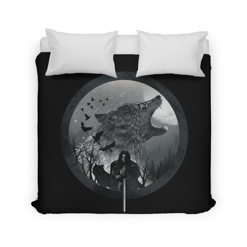 The King of the North Home Duvet by dandingeroz's Artist Shop