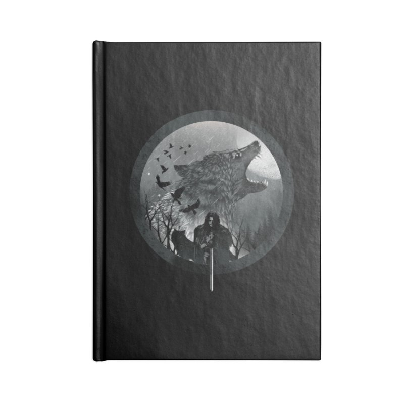 The King of the North Accessories Notebook by dandingeroz's Artist Shop