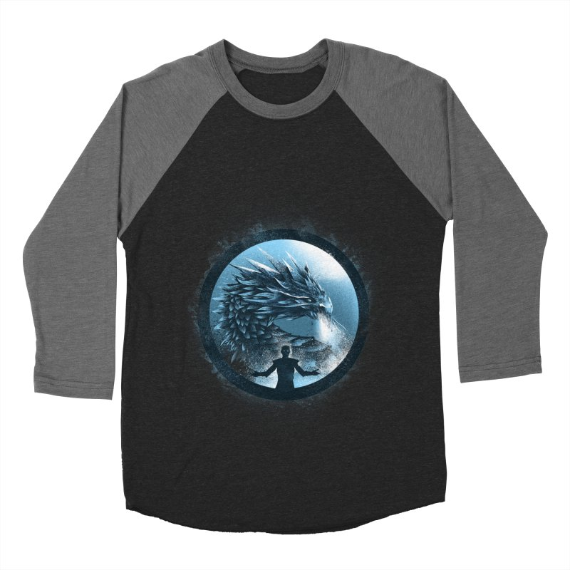 The Night King Men's Baseball Triblend T-Shirt by dandingeroz's Artist Shop
