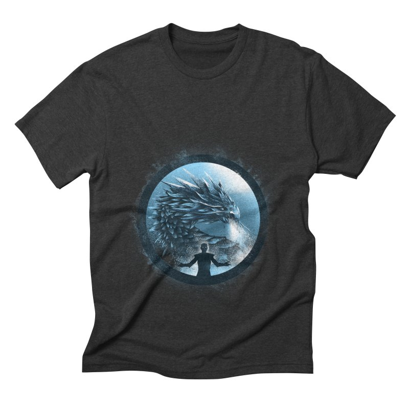 The Night King Men's Triblend T-shirt by dandingeroz's Artist Shop
