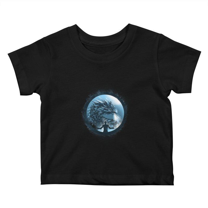 The Night King Kids Baby T-Shirt by dandingeroz's Artist Shop