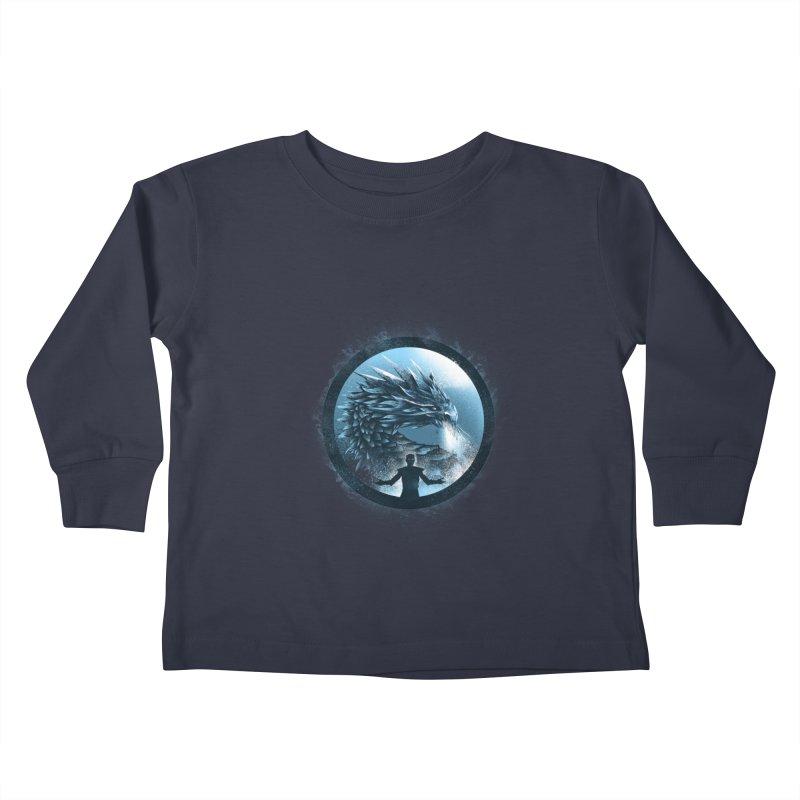 The Night King Kids Toddler Longsleeve T-Shirt by dandingeroz's Artist Shop