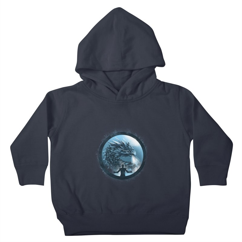 The Night King Kids Toddler Pullover Hoody by dandingeroz's Artist Shop