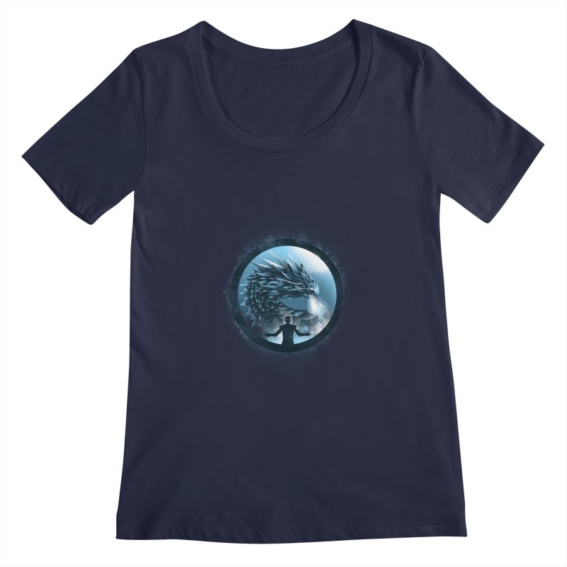 The Night King Women's Scoopneck by dandingeroz's Artist Shop