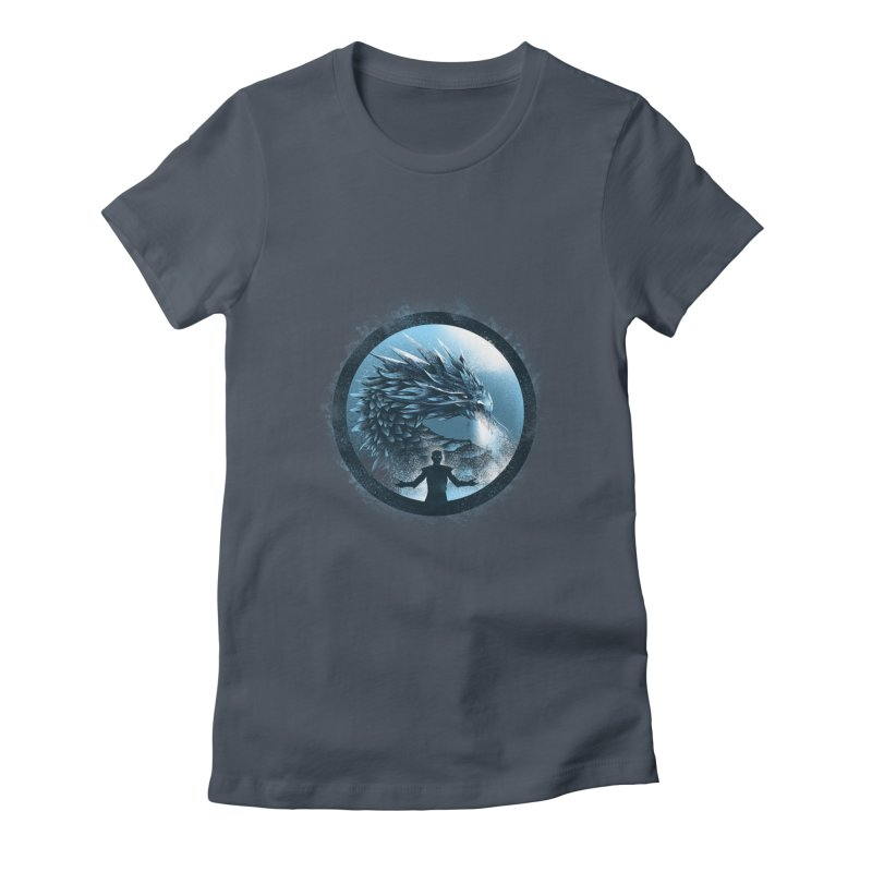 The Night King Women's Fitted T-Shirt by dandingeroz's Artist Shop