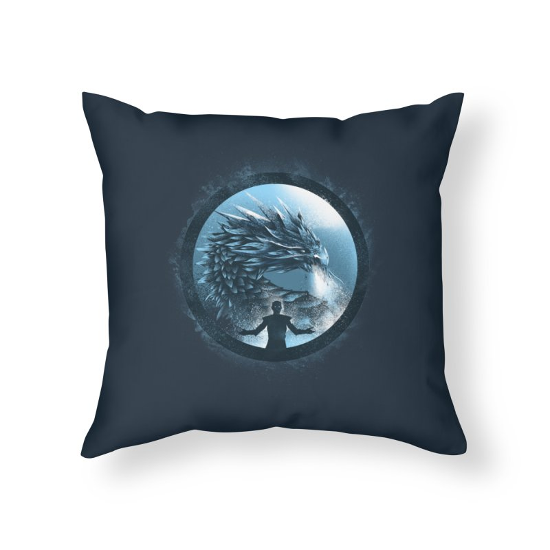 The Night King Home Throw Pillow by dandingeroz's Artist Shop