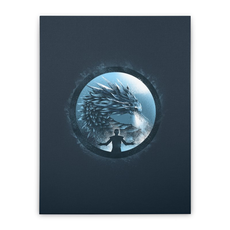 The Night King Home Stretched Canvas by dandingeroz's Artist Shop