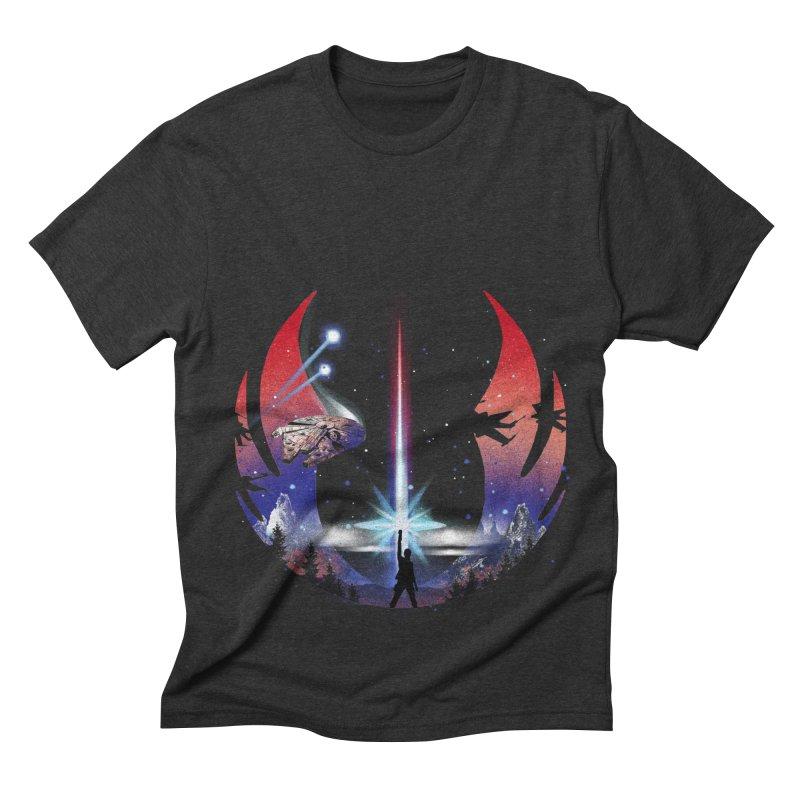 The Temple Men's Triblend T-shirt by dandingeroz's Artist Shop
