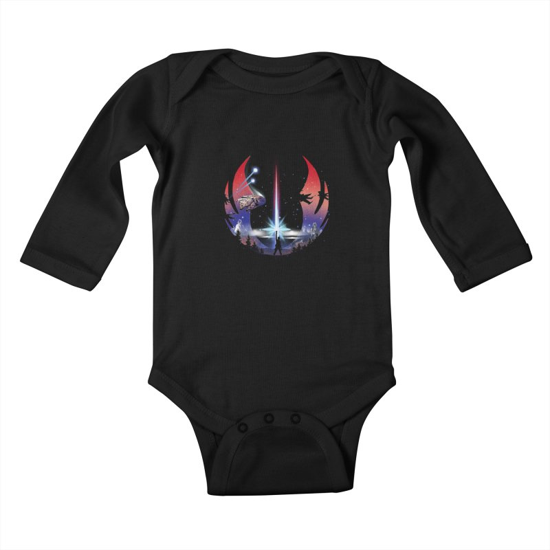 The Temple Kids Baby Longsleeve Bodysuit by dandingeroz's Artist Shop