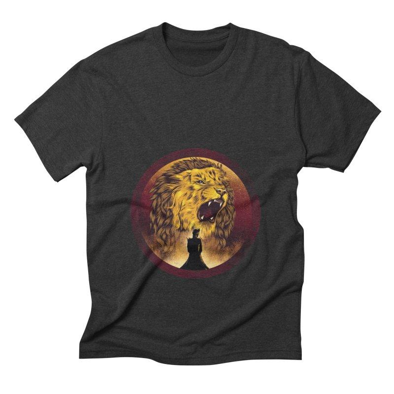 The Queen  Men's Triblend T-shirt by dandingeroz's Artist Shop