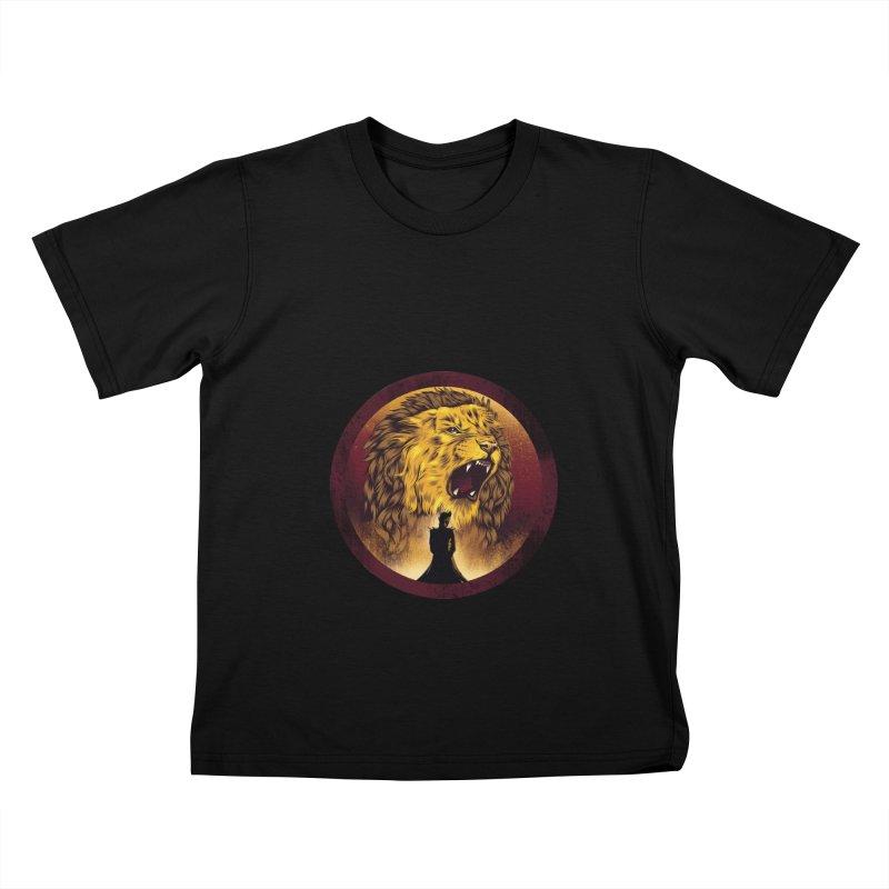 The Queen  Kids T-shirt by dandingeroz's Artist Shop