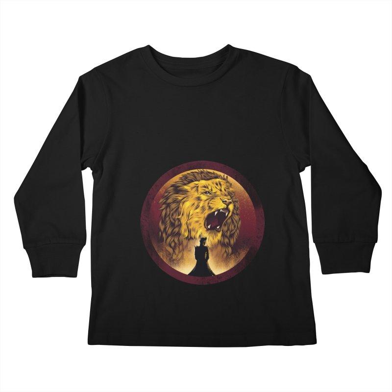The Queen  Kids Longsleeve T-Shirt by dandingeroz's Artist Shop