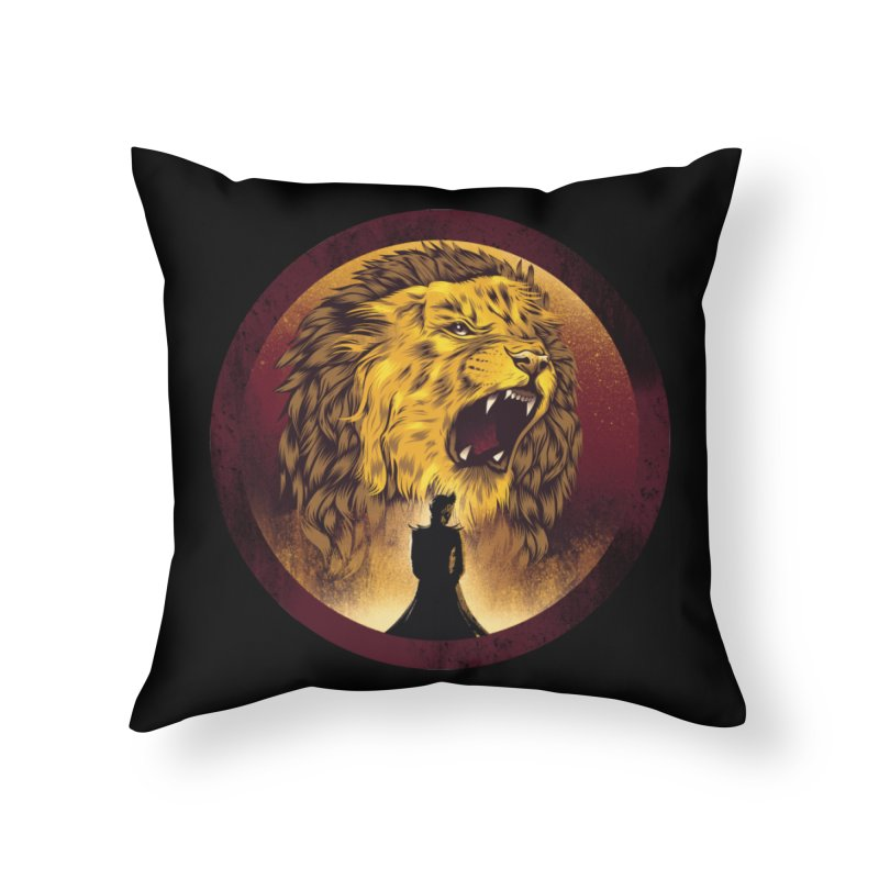 The Queen  Home Throw Pillow by dandingeroz's Artist Shop