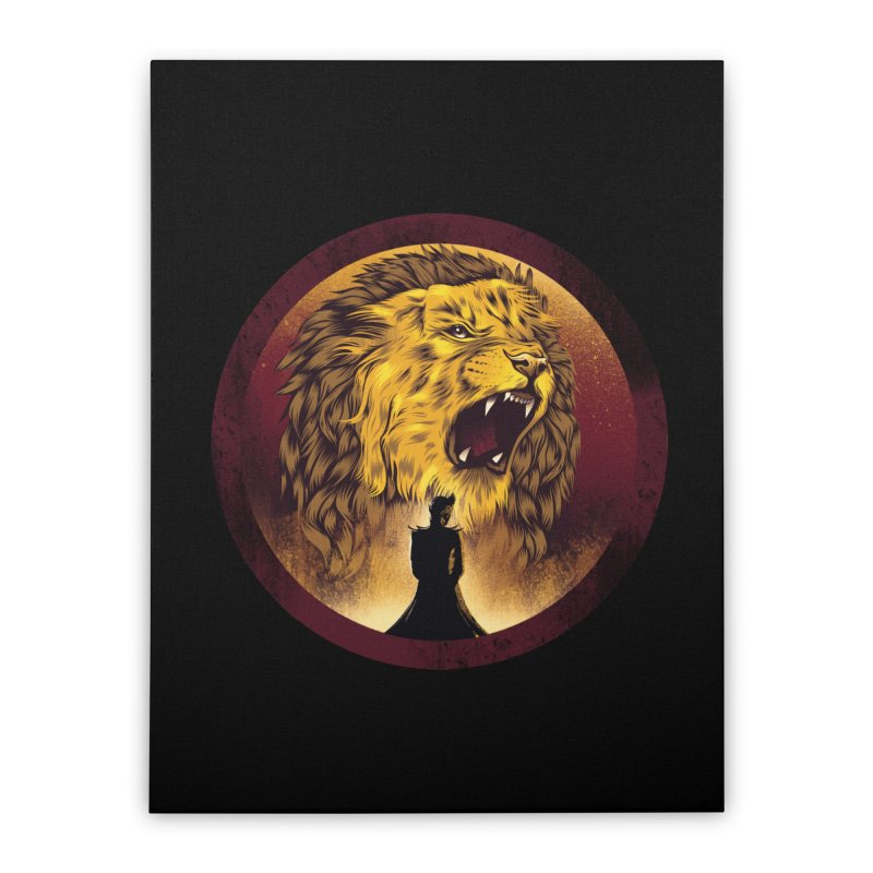 The Queen  Home Stretched Canvas by dandingeroz's Artist Shop
