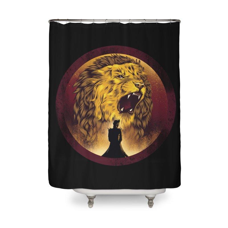 The Queen  Home Shower Curtain by dandingeroz's Artist Shop