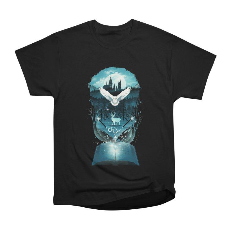 Book of Fantasy Men's Classic T-Shirt by dandingeroz's Artist Shop